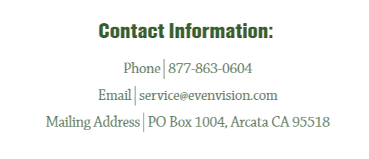 screenshot of local business Citations for EvenVision from Humboldt Builders Exchange