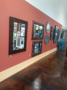 Picture from inside of Redwood Glass and Windows